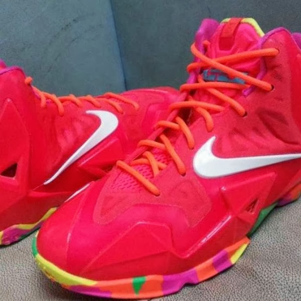 7a33d16a080d9 ... Nike LeBron XI 11 GS 8220Fruity Pebbles8221 8211 First Look ...