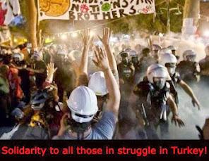 Αλληλεγγύη στην εξέγερση στην Τουρκία