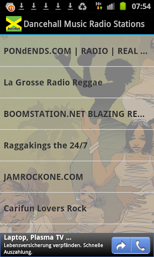 Dancehall Music Radio Stations