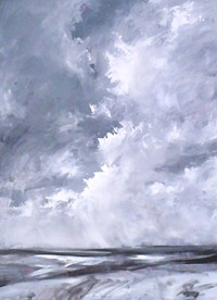 cloud sky painting