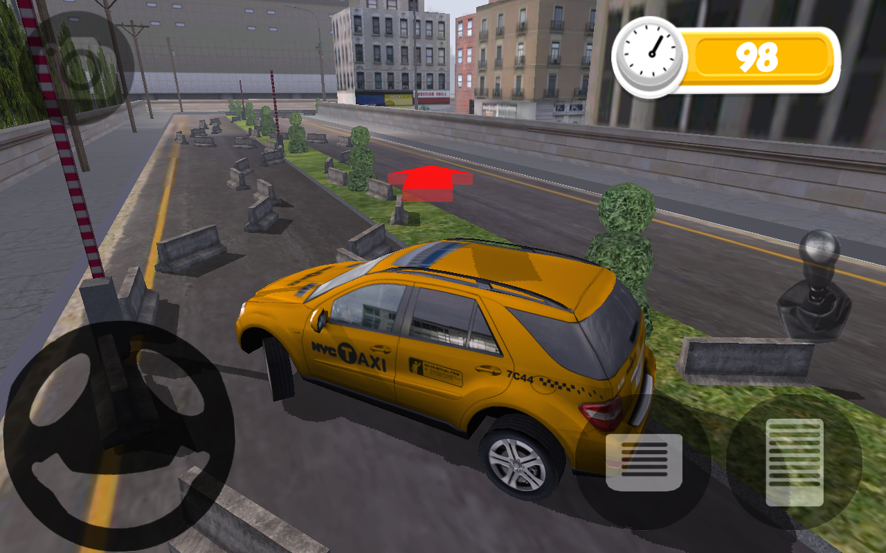 TAXI PARKING HD- screenshot
