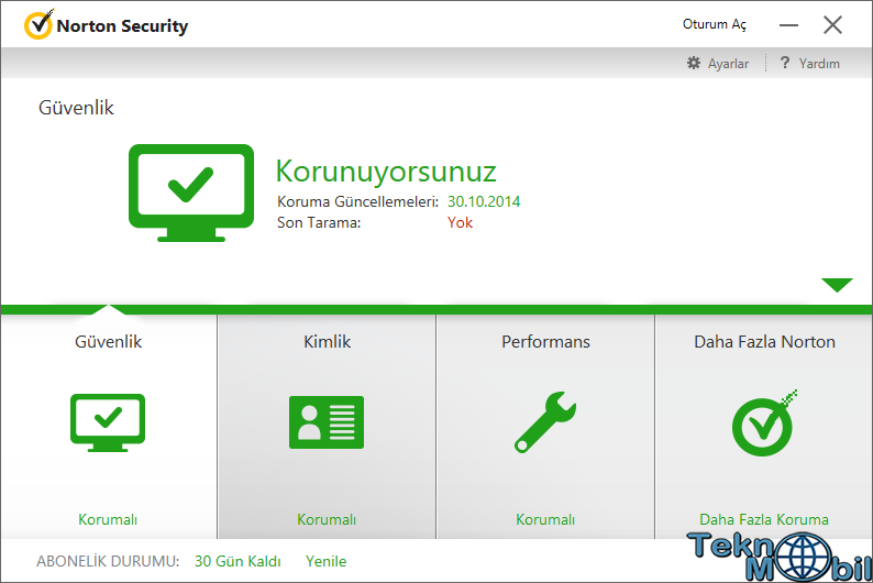 Norton Antivirus 2015 v21.6.0.32 Türkçe Full