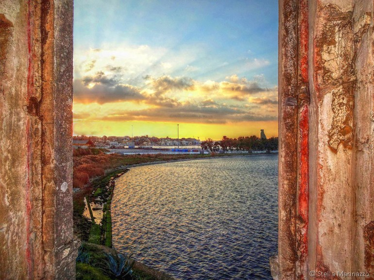 Brindisi through a doorway image by Stella Marinazzo