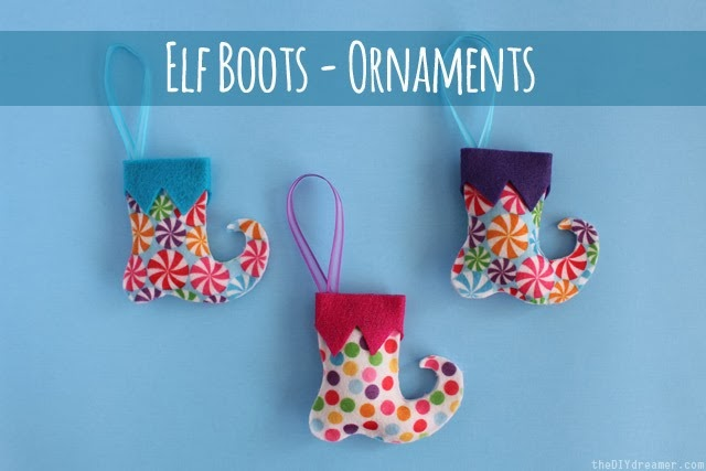 Elf-Boots-Ornaments