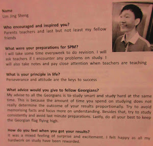 Advice from SPM 10A+ 2011