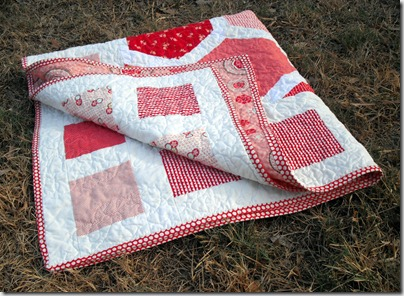Hexagon Baby Quilt 4