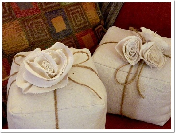 Present Pillows Twine on couch (550x413) (2)