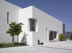 fachadas de casa moderna Villa en Andalucía por McLean Quinlan Arquitectos