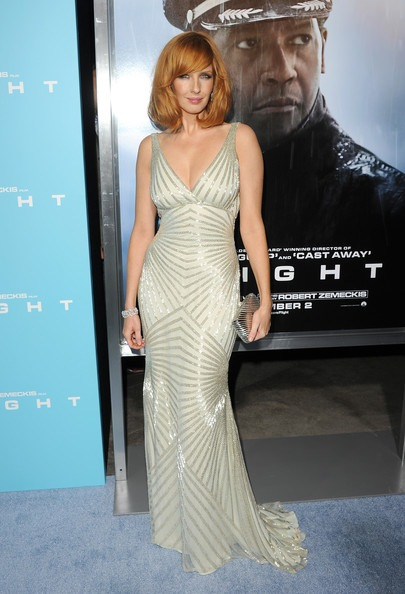 Kelly Reilly Premiere Paramount Pictures Flight