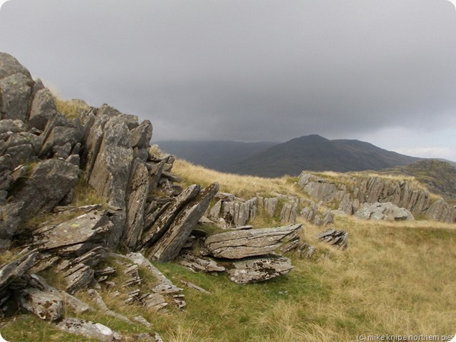 glaur descends on coniston fells