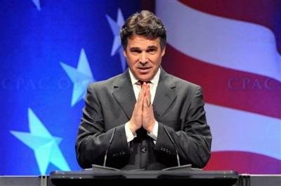 Perry praying