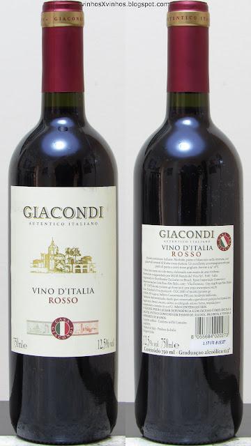 Vinho Giacondi