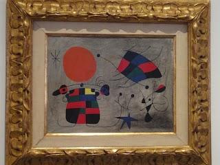 Le sourire du vent flamboyant par Joan Miró au Musée national centre d'art Reina Sofía à Madrid