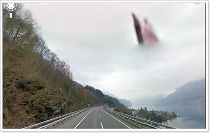 Dios en un mapa de Google