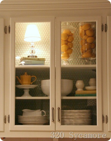 glass doors for the kitchen cabinet 320 sycamore. Black Bedroom Furniture Sets. Home Design Ideas