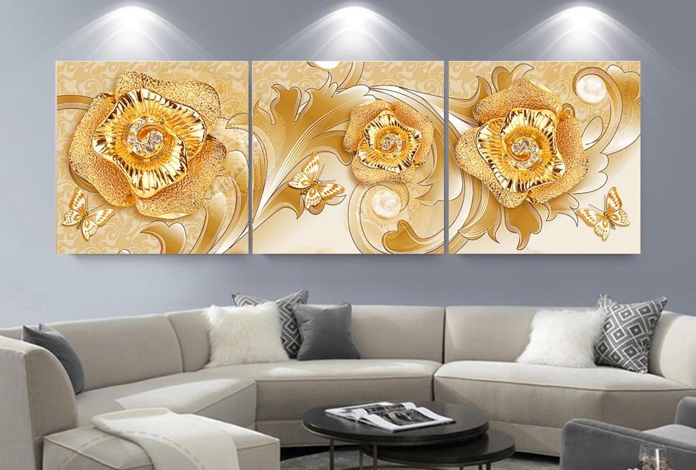 trang trí không gian phòng khách