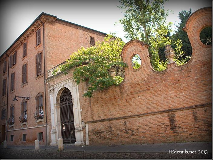 Palazzo Gigioli-Varano - Palace Giglioli, Ferrara, Italy, foto3