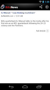 Bills News - screenshot thumbnail