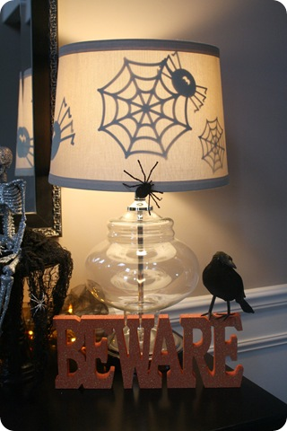 Halloween up in here from thrifty decor chick halloween lamp shade aloadofball Images