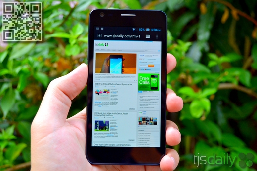 Alcatel One Touch Idol Ultra Review Display