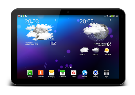 Weather Animated Widgets - screenshot thumbnail