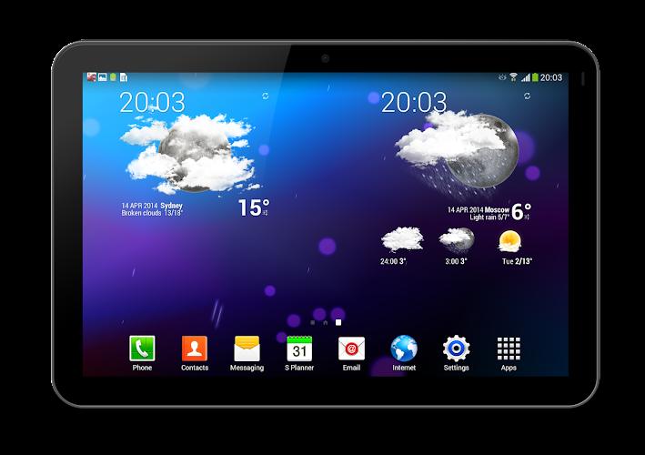 Weather Animated Widgets - screenshot