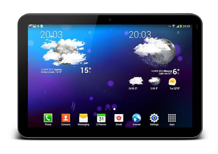 Weather Animated Widgets - screenshot