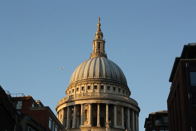 St Paul's Cathedral in Beautiful Autumnal Light