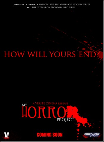 MY HORROR PROJECT TEASER POSTER small