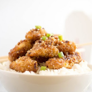 Easy Honey Garlic Sesame Chicken