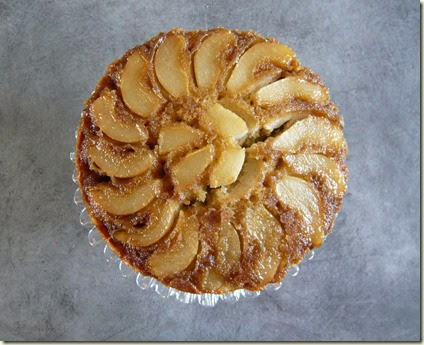 pear and ginger upside down cake4