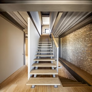 escaleras-Casa-M-por-MDBA-Guallart-Architects