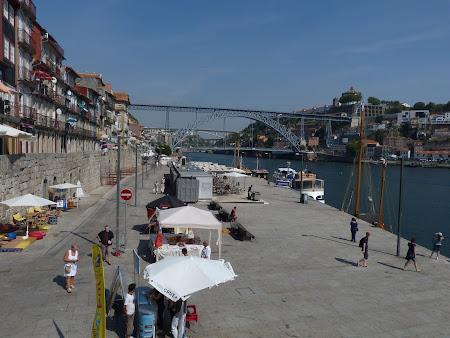 Unde sa ne plimbam prin Porto: Pe malul Douro