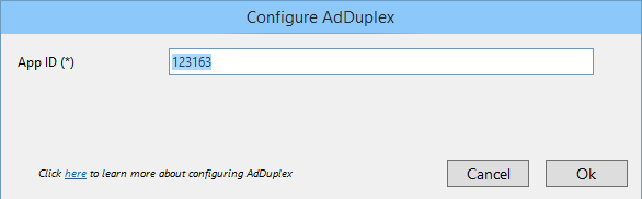 Provide details in configuration window of each AdNetwork of AdMediator (www.kunal-chowdhury.com)