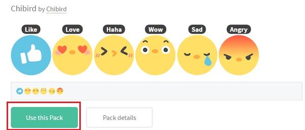 Cài đặt Reactions cho Facebook