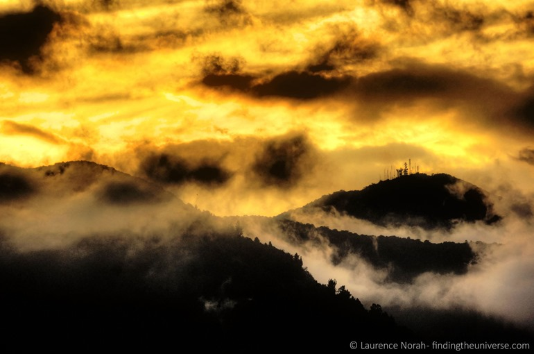 sunset otavalo mountains clouds sky fire 2 scaled