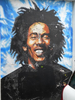 Bob Marley Mural, Foxberry Road SE4