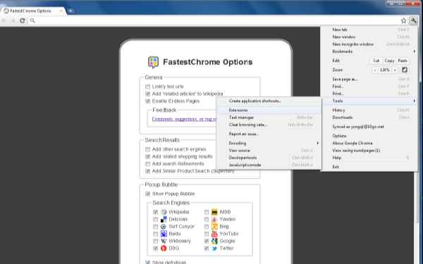 FastestChrome