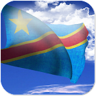 3D DR Congo Flag icon