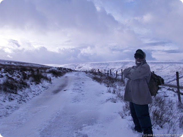 the lane up to ireshopeburn moor