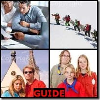 GUIDE- 4 Pics 1 Word Answers 3 Letters