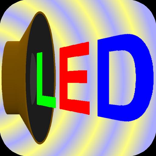 Scroller - 發光二極管和文本 LOGO-APP點子