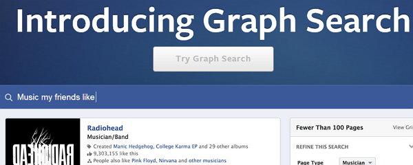 El nuevo buscador de facebook