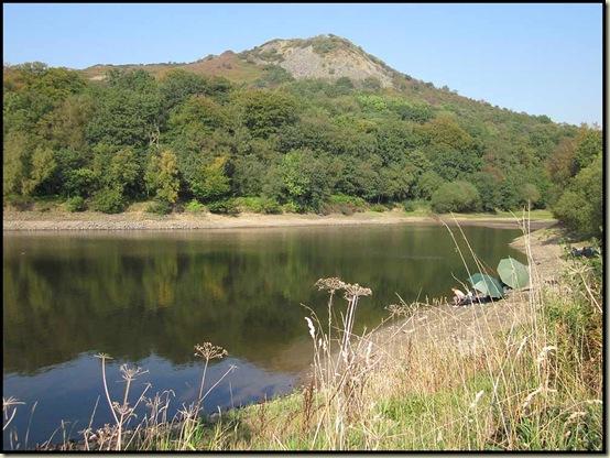 Tegg's Nose, from Teggsnose Reservoir