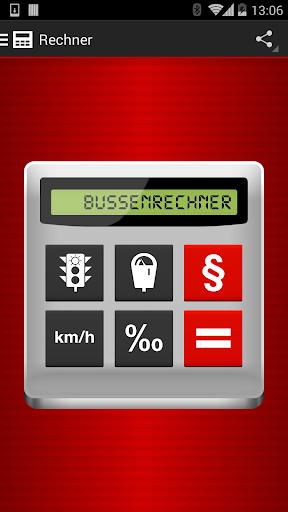 Bussenrechner Schweiz Bussgeld