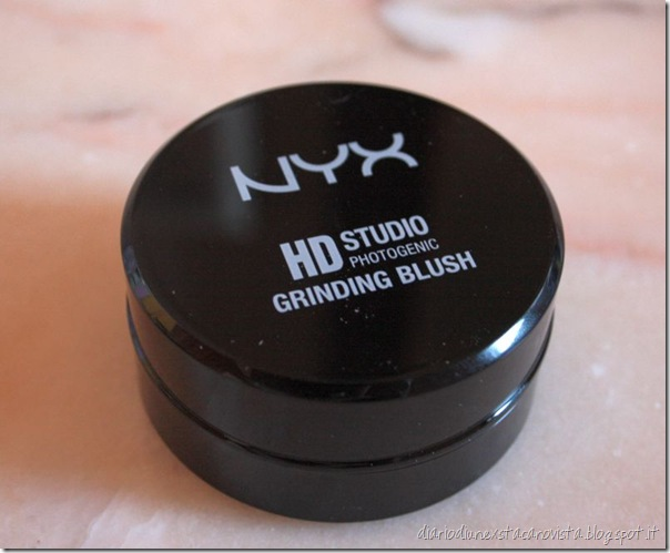nyx hd studio grinding blush 03 menage a trois