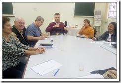 Reunião na Pastoral das Pessoas com Deficiência
