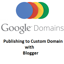 Setup Blogger Custom domain with Google Domains - Blogger