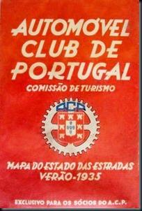 acp mapa das estradas de portugal Restos de Colecção: Automóvel Club de Portugal acp mapa das estradas de portugal