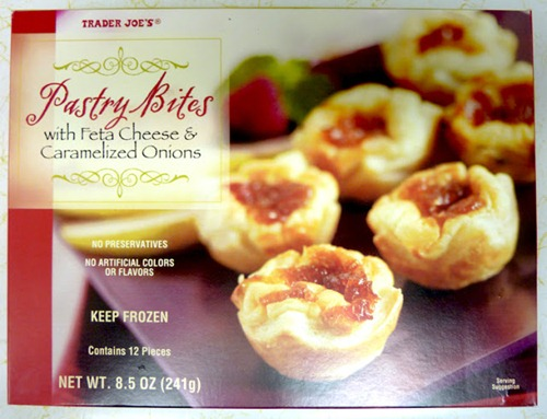 Pastry Bites with Feta Cheese